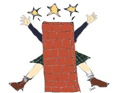 Running into a brick wall
